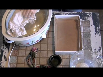 How To Make Shampoo Bars