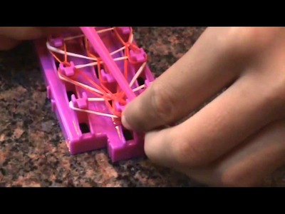 How to make the Waterfall bracelet with Crazy Loom!