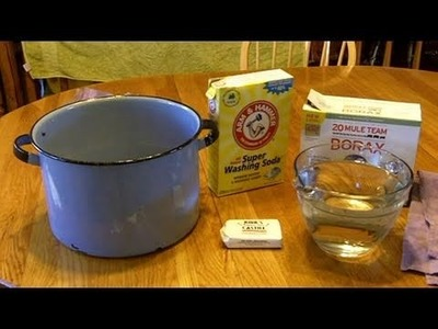 How to make your own Laundry Detergent at Home for Pennies a Load!