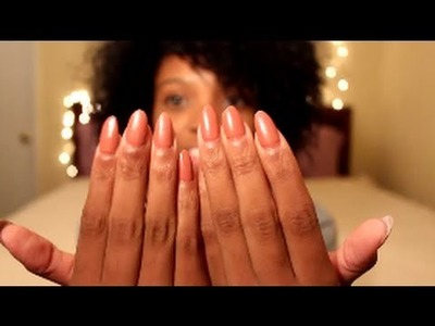 How To | Rihanna Inspired Pointed Acrylic Nails at home!