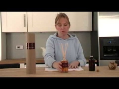 How to set up and use a reed diffuser