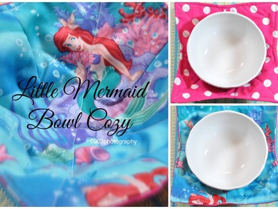 How To: Sew a Little Mermaid Bowl Cozy (GIVEAWAY CLOSED)