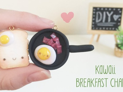 Kawaii Breakfast Toast & Eggs Polymer Clay Tutorial