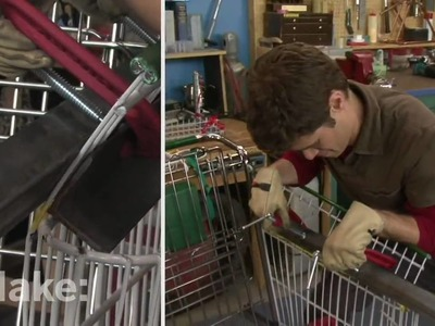 Maker Workshop - Shopping Cart Chair on MAKE: television