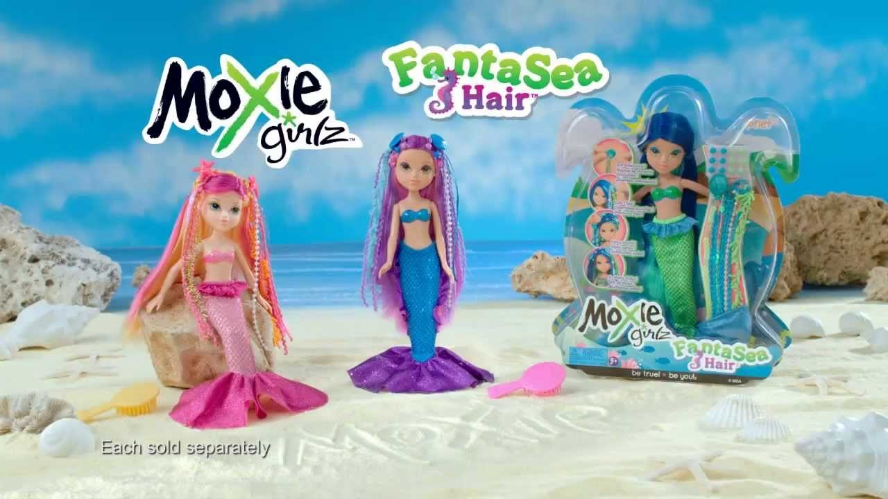 Moxie Girlz FantaSea Hair Commercial