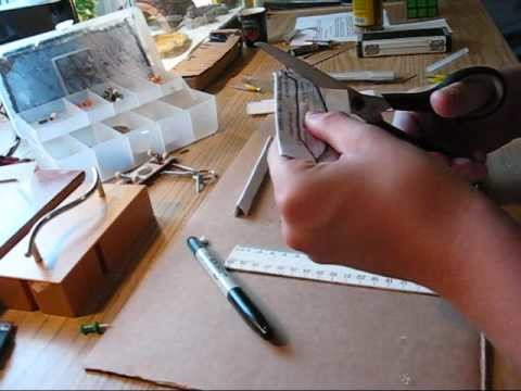 Paper butterfly.balisong knife tutorial part 2