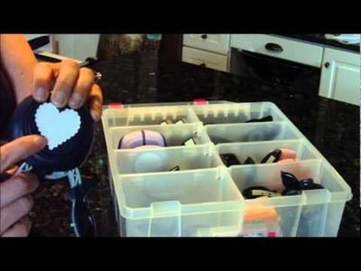 Paper Punch Storage System