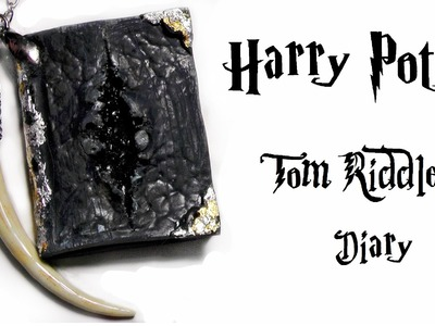 Polymer Clay - Harry Potter - Tom Riddle's Diary