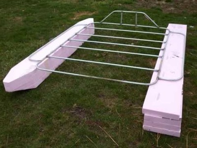 Pontoon boat build pt1.wmv
