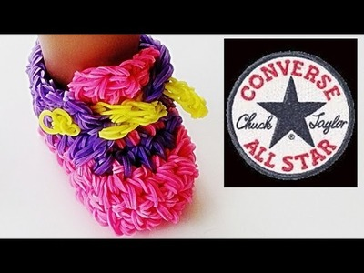 Rainbow Loom Sneakers (Loom Bands, Doll Shoes, Converse)