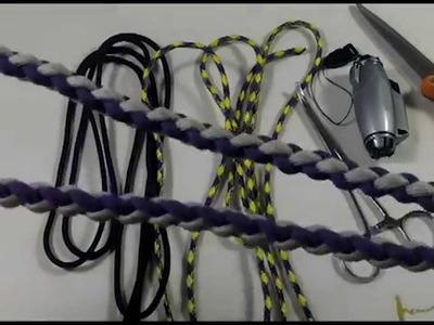 Rock Paracord - How to Make a Round Braid Lanyard