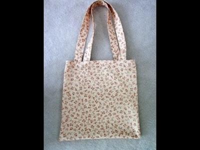 Sew Easy, Please! - Tote Bag Tutorial
