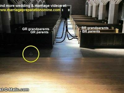 Simple Guide to the Traditional Wedding Processional Order
