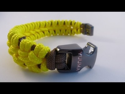 Spinal Paracord Bracelet Tutorial by Yuuma