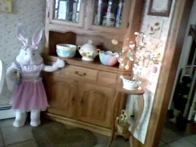 The Bunnies Have Arrived. Easter Decorations