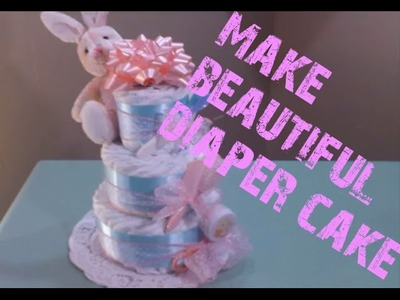 Three Tier Diaper Cake Instructions How-To Guide