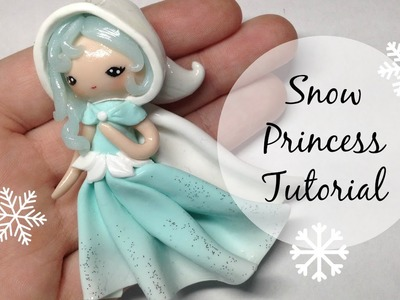TUTORIAL: Polymer Clay Snow Princess Chibi