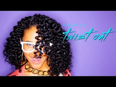Twist Out Hairstyle for Curly Girls!!!