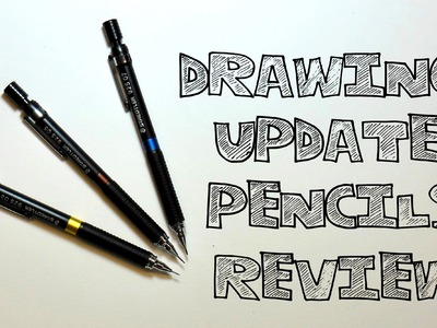 Vlog #2 - Drawing Update and Pencils Review