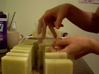 Wrapping Soap- Doing some Q&A Soap Talk, what organic means and more.