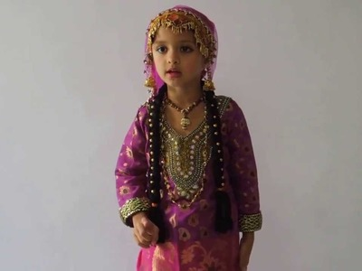 Aarna Rai Fancy dress competition kashmiri girl won first prize