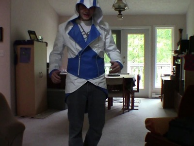 Assassin's Creed 3 Connor Kenway Jacket (Blue.White)