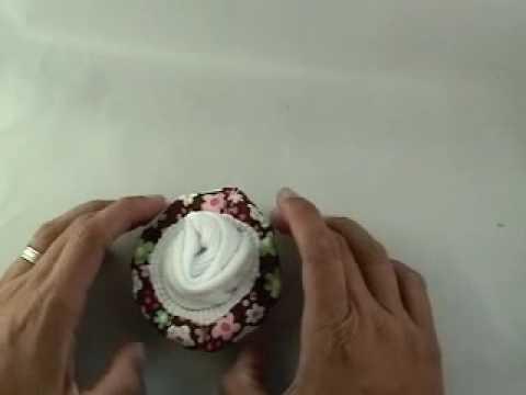 Baby Socks Cupcake