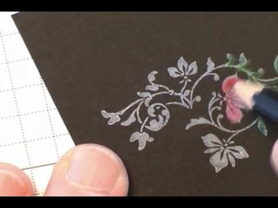 Black Magic Stamping Technique (with a Twist)