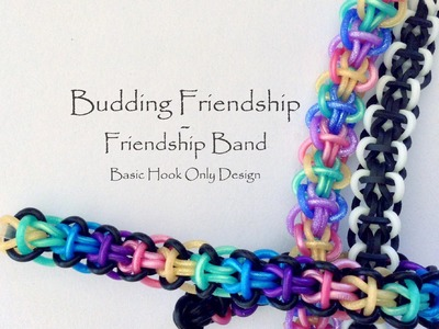 Budding Friendship - Friendship Bracelet (Basic Hook Only Design)