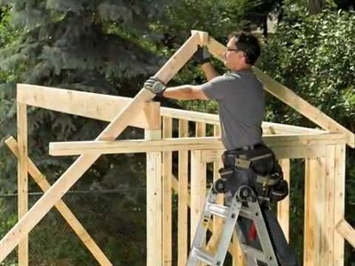 Building a Sunlight Garden Shed
