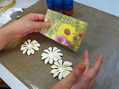 Card Making Mania Sunflower Card
