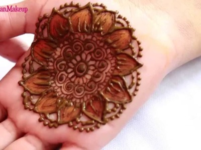 Chapter 17 : Learn 2D Shaded.Two Tone Henna Mehendi Tutorial