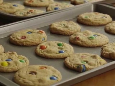 Cookie Recipes - How to Make M&M Cookies