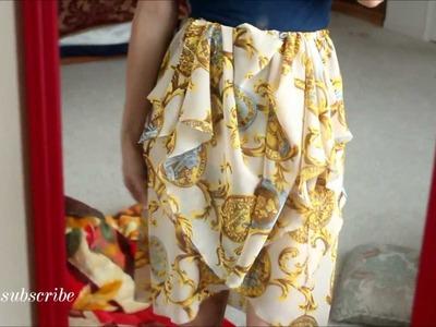D&G Spring 2012 Inspired Skirt tutorial