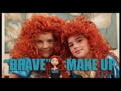 Disney's Princess Merida  from BRAVE Makeup Tutorial  |  KittiesMama