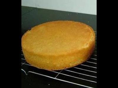 Eggless Sponge Cake Video Recipe by Bhavna - Silken Tofu Cake Recipe