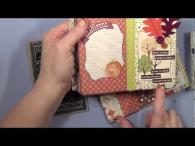 Fall Project Series # 9 - Gratitude Journal and Giveaway