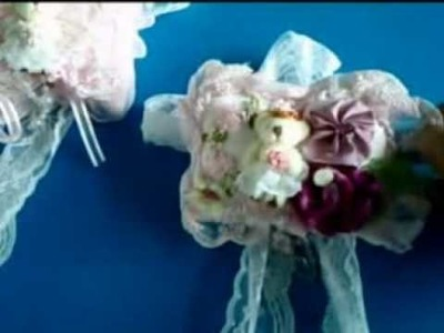Flower Curtain Tieback Holder with Bowknot