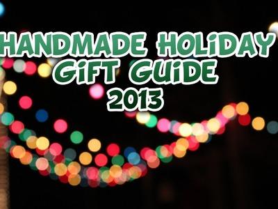 Handmade Holiday Gift Guide 2013 - Whitney Sews