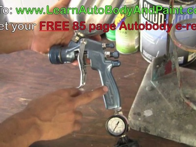 HD: How To Adjust Your Spray Gun - Auto Spray Gun Setup Tips!