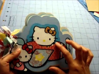 Hello Kitty Mini Album and Card