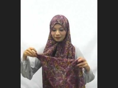 Hijab Tutorial: Long, Wide & Volume Hijab Style