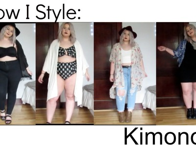 How I Style: KIMONOS | Looks by Lydia