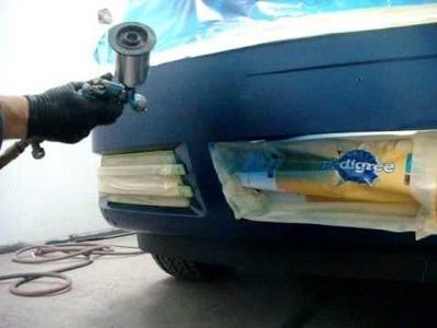 How to Blend Car Paint (Spot Repair)