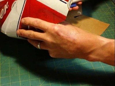 How to make a beer box cowboy hat