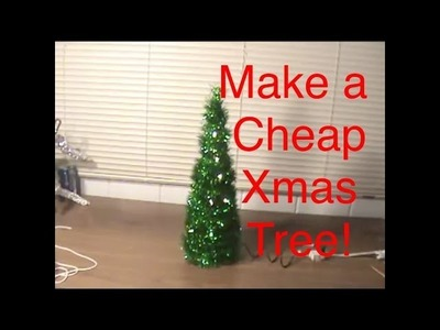 How to Make a Desk Christmas Tree!