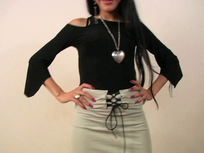 How to Make a High-Waist Pencil Skirt