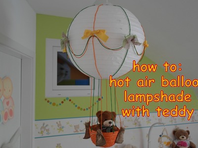 How to make a light shade for kids room. Kinderzimmer Deko Ideen!