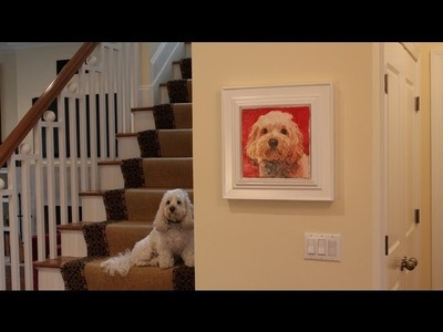 How to make a picture frame with Windsor casing molding by Jon Peters