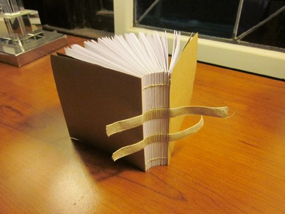 How to Make a Traditionally-Bound Book with Slipcase Without Special Equipment Pt. 3